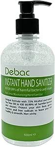 Debac Instant Anti-Bacterial Hand Sanitizer (500ml)