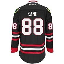 Chicago Blackhawks NHL Patrick Kane #88 Black Premier Jersey Stitched Reebok (X-Large)