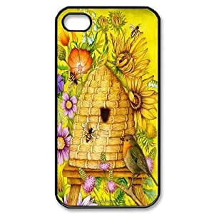 iphone covers fashion case Custom High Quality WUCHAOGUI cell phone case cover Honey Bee Art Design protective case cover For Iphone WyhOBBS43Jl 6 plus case cover - case cover-12