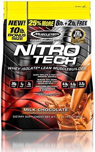 Muscletech Nitro Tech Performance Series - 4,54 kg Milk ...