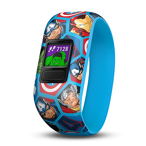 Garmin vívofit jr. 2 - Stretchy Avengers - Activity Tracker for Kids 010-01909-22 by Garmin