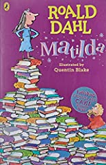 Phizzwhizzing new cover look and branding for the World's NUMBER ONE Storyteller! Matilda Wormwood's father thinks she's a little scab. Matilda's mother spends all afternoon playing bingo. And Matilda's headmistress Miss Trunchbull? Well, she...