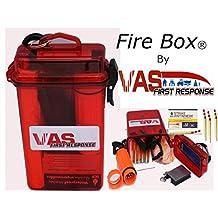 VAS Fire Box - Emergency Fire Starting Kit in a Waterproof Case