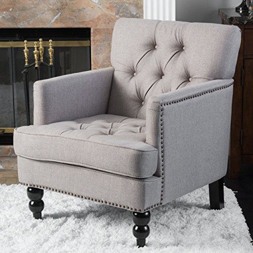 Christopher Knight Home 296470 Chair-Ckh Arm, Pewter Review