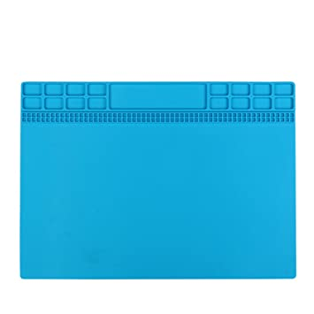 Astonishing Bigger Size Magnetic Repairing Heat Insulation Pad Workbench Insulation Silicon Pads Magnetic 30 5X40 5 Big Size Pure Silicon Raw Material Onthecornerstone Fun Painted Chair Ideas Images Onthecornerstoneorg