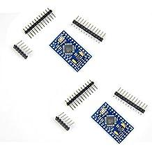 Diymall Atmega328 Pro Mini Atmega328p 3.3v 8mhz Board Module for Arduino Esp8266 Pack of 2PCS