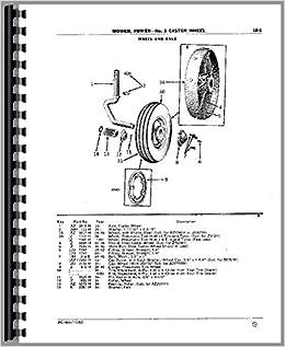 Amazon com: John Deere No  5 - Sickle Mower Parts Manual