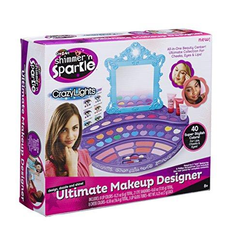 Cra-Z-Art Real Ultimate Make Up Designer Building Kit (Make Up Kit For Girls)