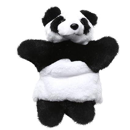 Waroomss Marionetas Mano Felpa Panda, Lindos Juguetes Peluche, Juguetes Peluche para Niños, Padres