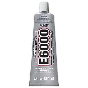 E6000 220011 High Viscosity Adhesive - 3.7 fl. Oz