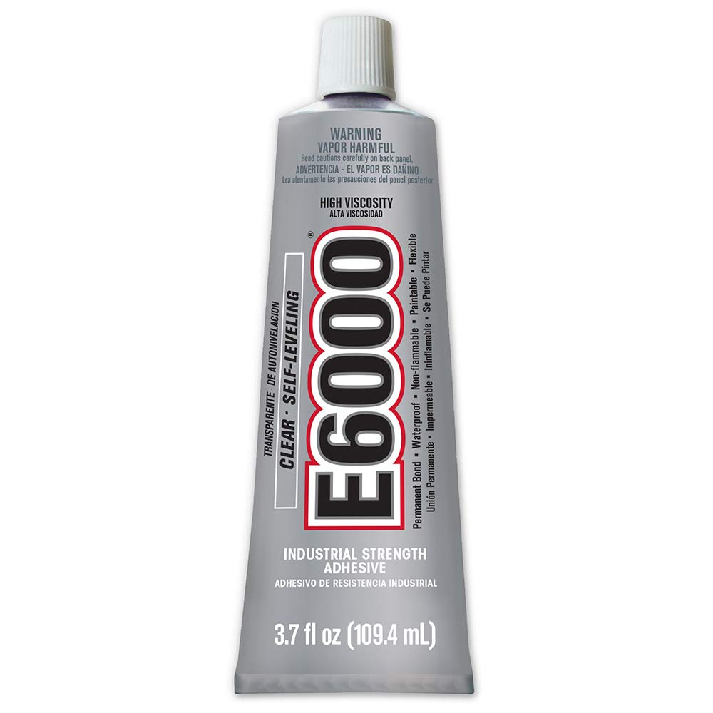 E6000 High Viscosity Adhesive, 3.7 Fluid