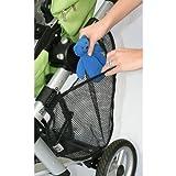 childress stroller cargo net - J.L. Childress Side Sling Stroller Cargo Net, Black - 2 Pack