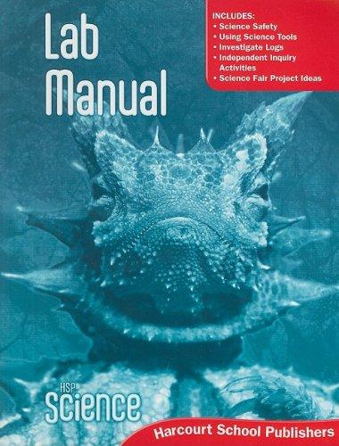 HSP Science  2009: Lab Manual Student Edition Grade 6 pdf