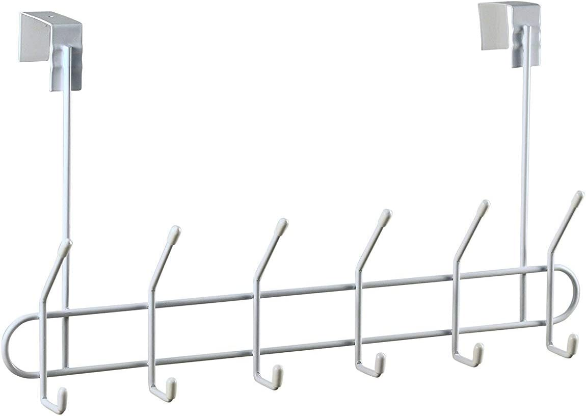 2 Over Door Coat Hooks türgarderobe Coat Hook türhänger Stainless Steel