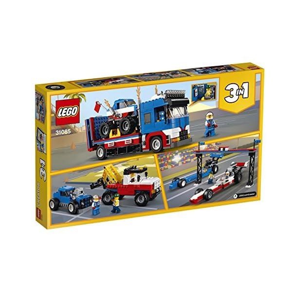 LEGO Truck Dello Stuntman Costruzioni Piccole Gioco Bambino Bambina Giocattolo 109 2 spesavip