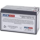 PS1270 12 Volt 7 Ah SLA Replacement Battery w/ F1 Terminal