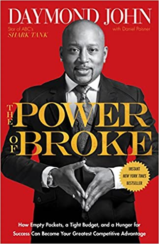 11 books that influenced the career path of 3 small business owners in my network, power o broke book cover blog post image