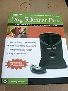 GoodLife Pro Ultrasonic Bark Control Training System Dog Silencer