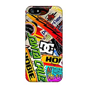 High-quality Durable Protection Case For Iphone 5/5s(dc Shoes Logos)