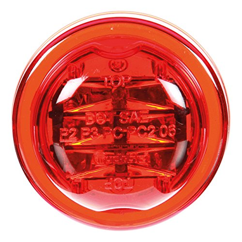 Truck-Lite 10375R 10 Series Red LED Marker/Clearance Lamp (SAE PC Rated LED)