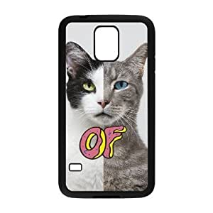 Unique DIY Design Cover Case with Hard Shell Protection for SamSung Galaxy S5 I9600 case with Odd Future lxa#218917