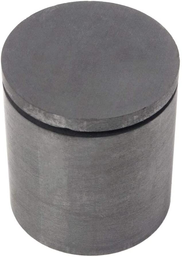 Junluck Graphite Crucible for Jewelry for Metals Precious Metals Non-Precious Metals Metal Melting Kit Crucible