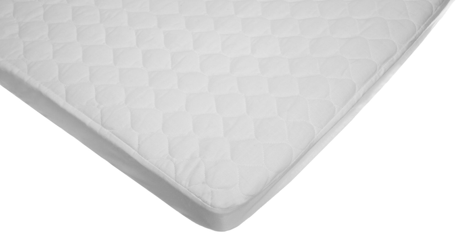 amazoncom american baby company waterproof fitted quilted crib mattress pad cover pack and play baby