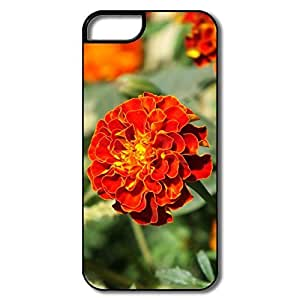 IPhone 5 5S Cases, Marigold Cases For IPhone 5/5S - White/black Hard Plastic