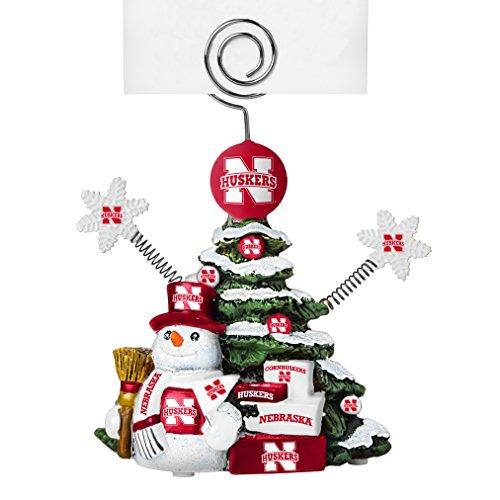 Nebraska Cornhuskers Ncaa Snowman (Boelter Brands NCAA Nebraska Cornhuskers Tree Photo Holder)