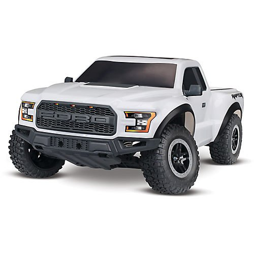 Traxxas 58094-1 2WD Ford Raptor with TQ 2.4GHz Radio System (1 10 Scale) - Oxford White