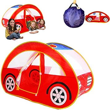 Dazzling Toys Pop Up Foldable Car Playhouse Happy Time Interactive Car Pop Up Tent- Play  sc 1 st  Amazon.com & Amazon.com: Dazzling Toys Pop Up Foldable Car Playhouse Happy Time ...
