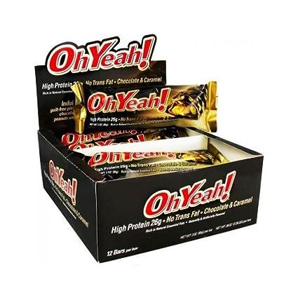 Oh Yeah - 12 barritas Chocolate-Caramelo