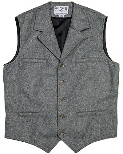 Schaefer Outfitters Men's 704 Mccoy Wool Vest XLT Heather Grey XX-Large