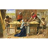 Oil painting 'John Everett Millais - Christ in the House of His Parents (`The Carpenter's Shop'),1849-1850' printing on Perfect effect Canvas , 30x50 inch / 76x126 cm ,the best Foyer artwork and Home decoration and Gifts is this Imitations Art DecorativeCanvas Prints