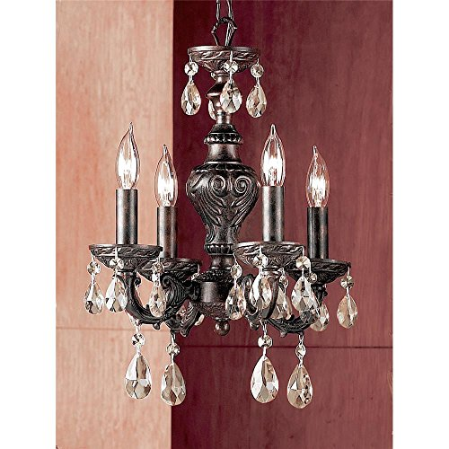 - Classic Lighting 8334 EB SGT Gabrielle Mini-Chandelier