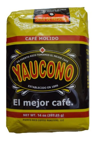Yaucono Ground Coffee 11.6 Pounds / 13 bags of 14 onz each by Cafe Yaucono