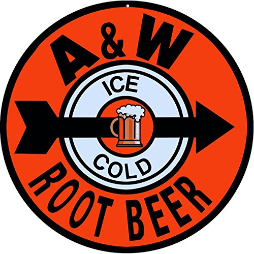 Vintage A&w Root Beer - 6