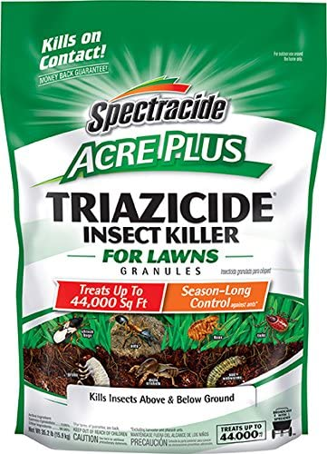 Spectracide Triazicide Acre Plus Insect Killer For Lawns Granules