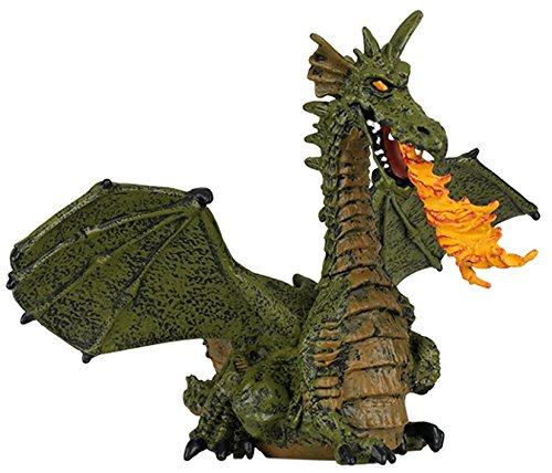 Papo Castle Dragon (Winged Dragon with Fire (Winged Blue or Green Dragon; Colors may vary))