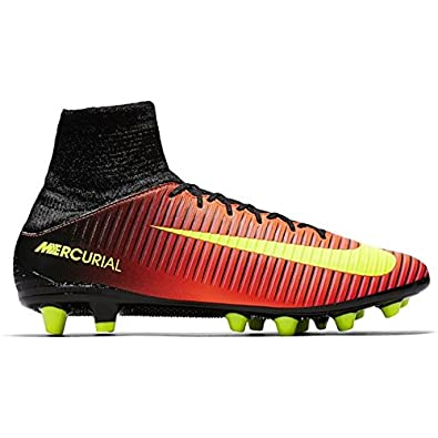 5f0bb4a596ef Nike Men's Mercurial Veloce III DF AG Pro Football Boots, 303 ELECTRIC  GREEN/BLACK