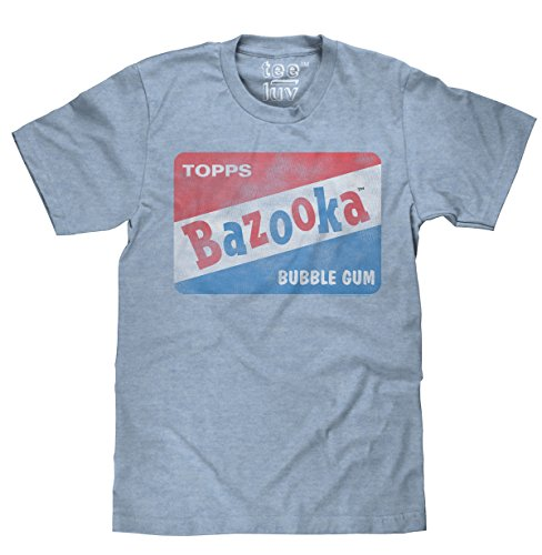 Free Vintage Bazooka Bubble Gum Licensed Topps T-shirt-xx-large