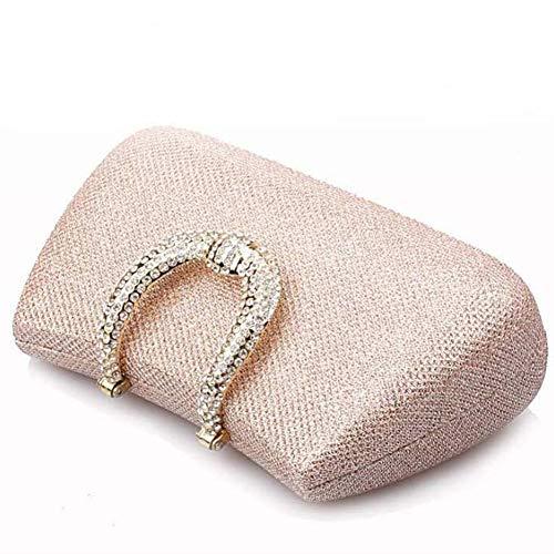 Da Opzionale Sposa Perle 5 Pochette Perlato 10 Strass Di Con Lucenti Xrkz 17cm a A Donna Paillettes Borsa 75nWzz