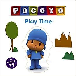 pocoyo sharing jigsaw book