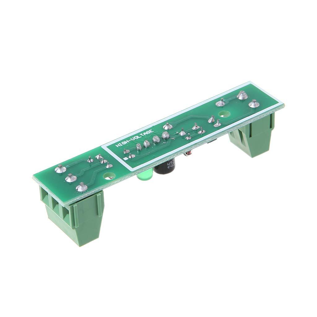 1 Bit Optokoppler Isolationsmodul 220 V Wechselstrom Adaptierbare Module Spannungserkennung PLC F/ür Einchip-Mikrocomputer SCM