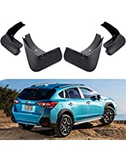 Car Mud Flaps Splash Guards Replacement for Subaru Crosstrek 2018 2019 2020 2021 Custom Front Rear Mudguard Kit Molded Fender Mudflaps Full Protection Auto Accessories,4-pc Set