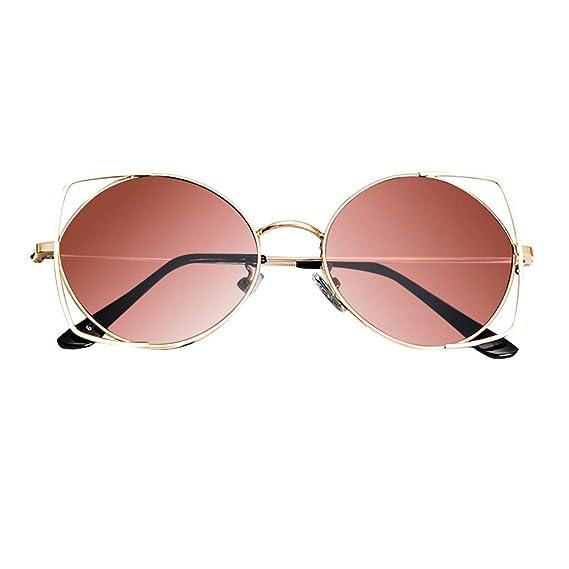 KUDICO Unisex Sonnenbrille Katzenaugen Shades Retro Kleiner Rahmen Integrierte UV400 Brille Vintage Oval Eyewear Gl/äser