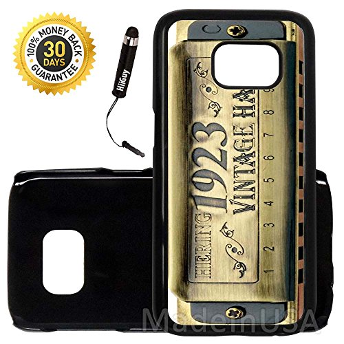 clásico Arpa harmonica-s7–3649, funda, negro (Plastic Snap On-Black Case)