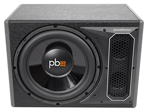 POWERBASS PS-AWB121 12'' 200w RMS Powered Subwoofer In Sub Box Enclosure+Amp Kit by PowerBass (Image #2)
