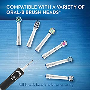 Oral-B Pro 500 Sensitive Gum Care Rechargeable Electric Toothbrush, Powered by Braun
