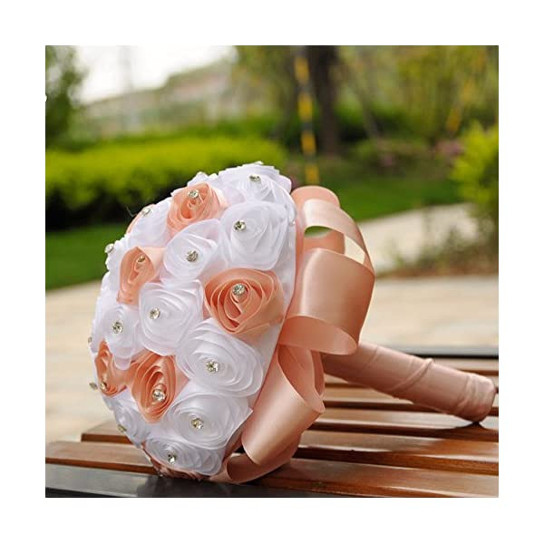 FILOL-household-products-Crystal-Roses-Pearl-Bridesmaid-Wedding-Bouquet-Bridal-Artificial-Silk-Flowers-Wedding-Home-Decoration-Orange
